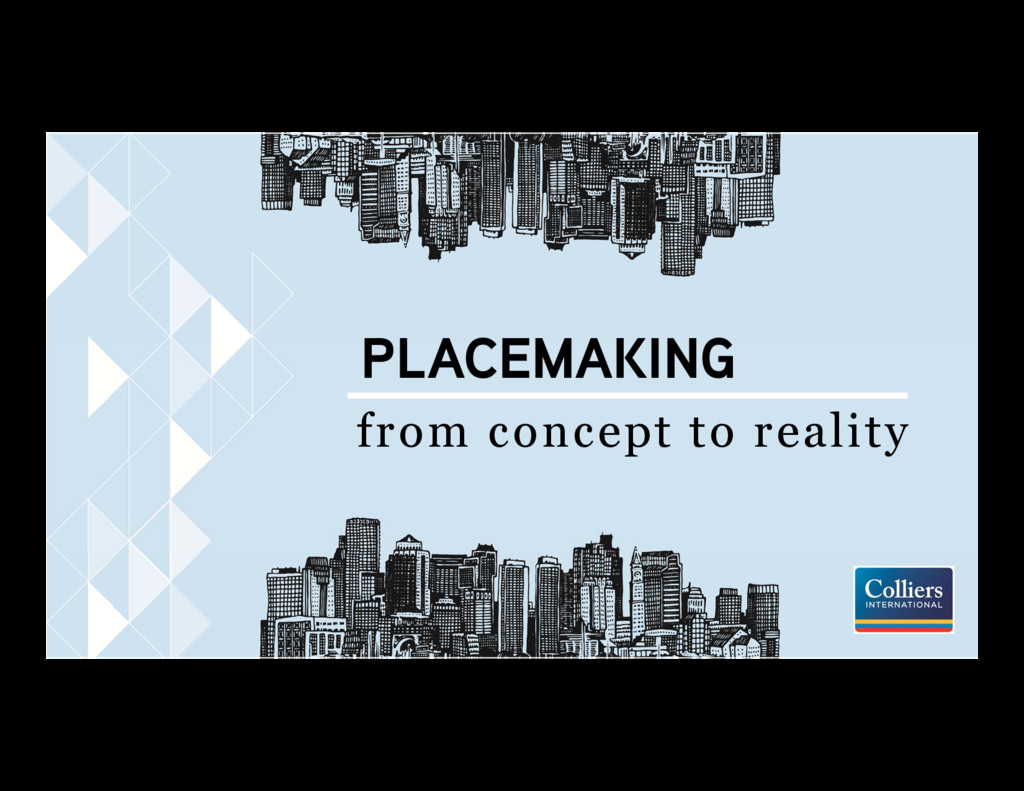 PLACEMAKING from concept to reality