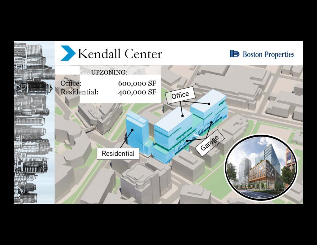 Residential Kendall Center UPZONING: Office: 60...