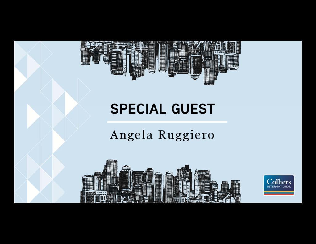 SPECIAL GUEST Angela Ruggiero