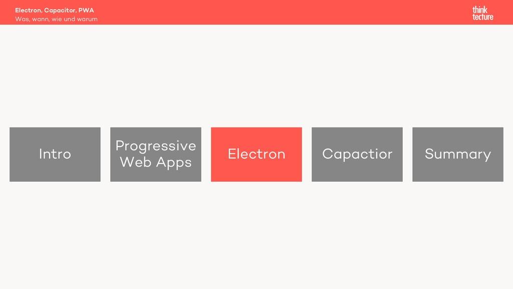 Intro Progressive Web Apps Electron Capactior S...