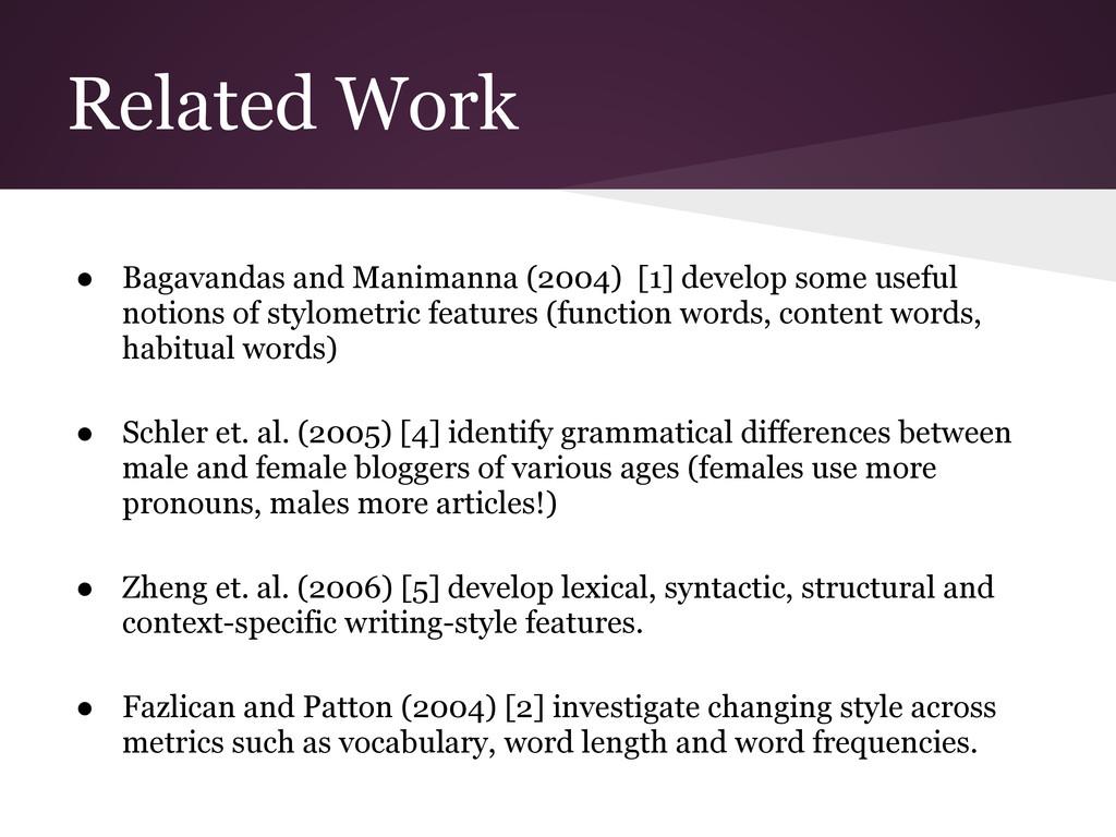 ● Bagavandas and Manimanna (2004) [1] develop s...