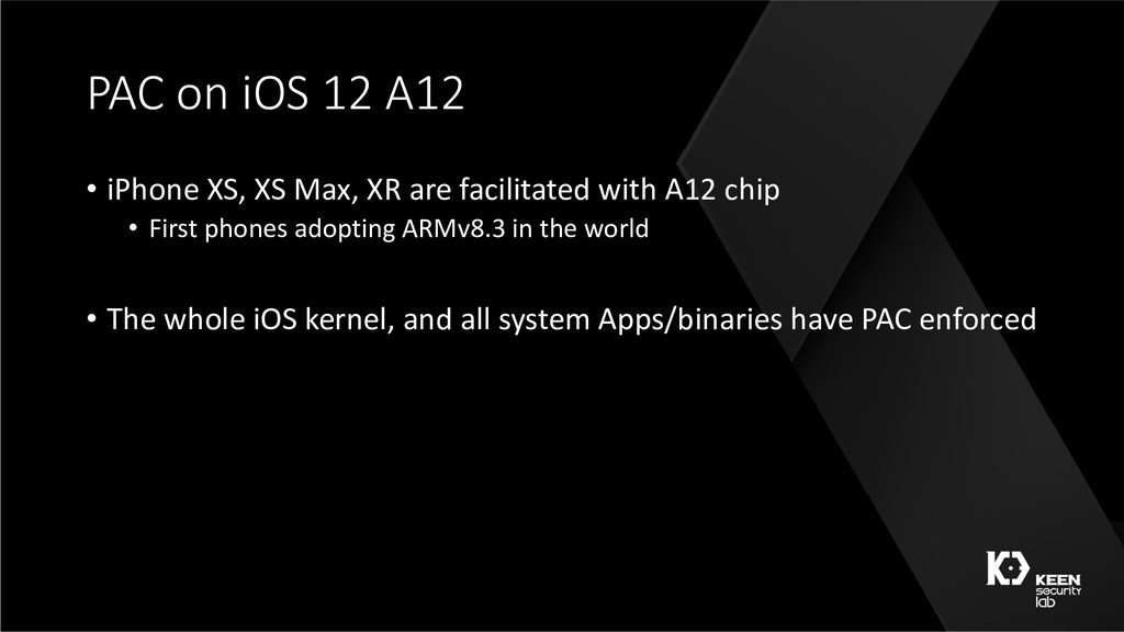 PAC on iOS 12 A12 • iPhone XS, XS Max, XR are f...