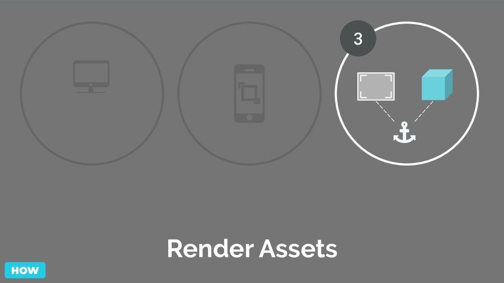 Render Assets 3 HOW