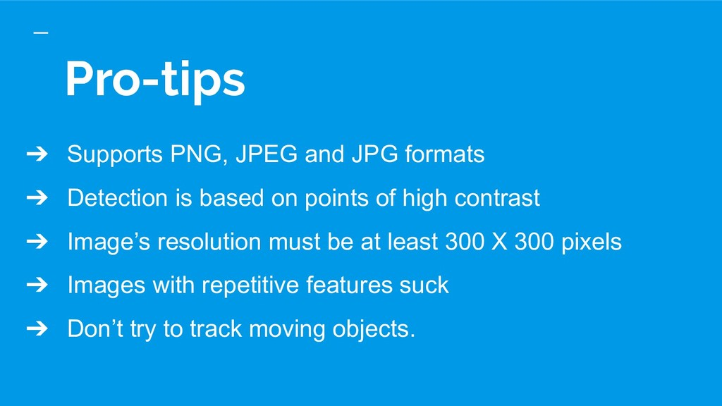 Pro-tips ➔ Supports PNG, JPEG and JPG formats ➔...
