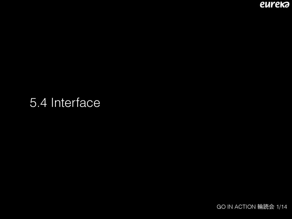 GO IN ACTION ྠಡձ 1/14 5.4 Interface