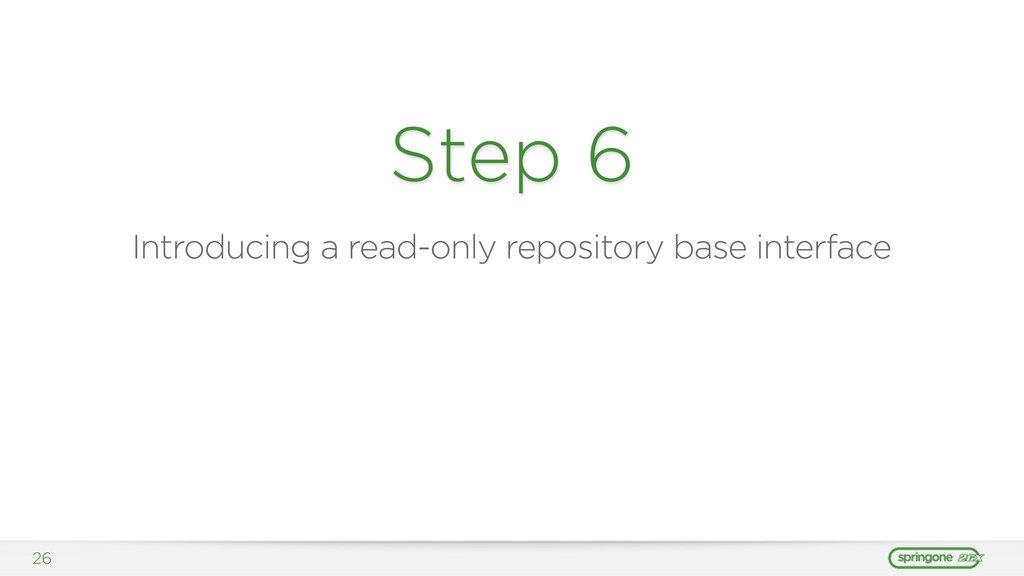 26 Step 6 Introducing a read-only repository ba...