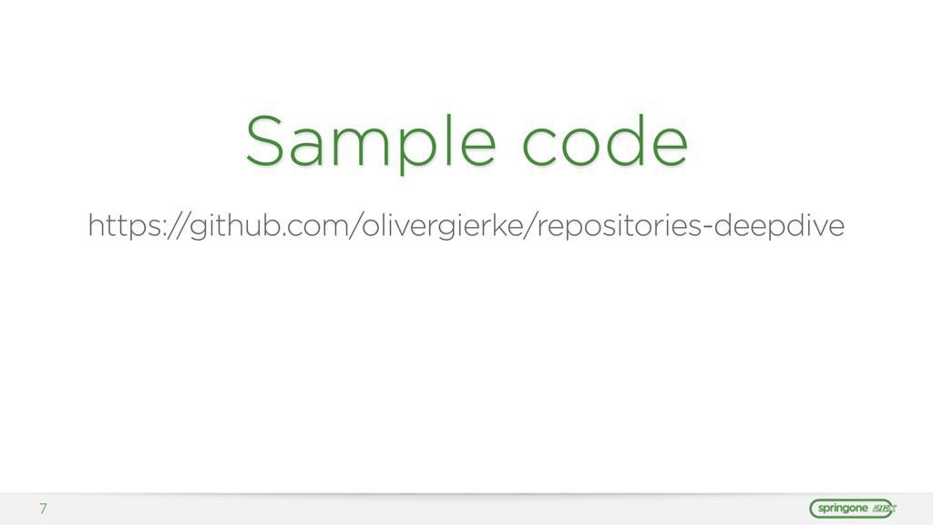 Sample code https:/ /github.com/olivergierke/re...