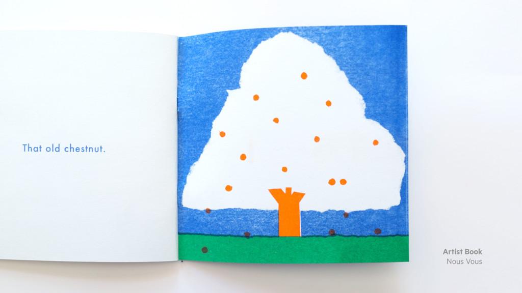 Artist Book Nous Vous