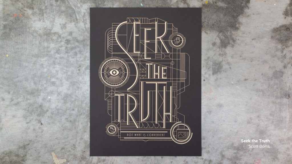 Seek the Truth Scott Boms