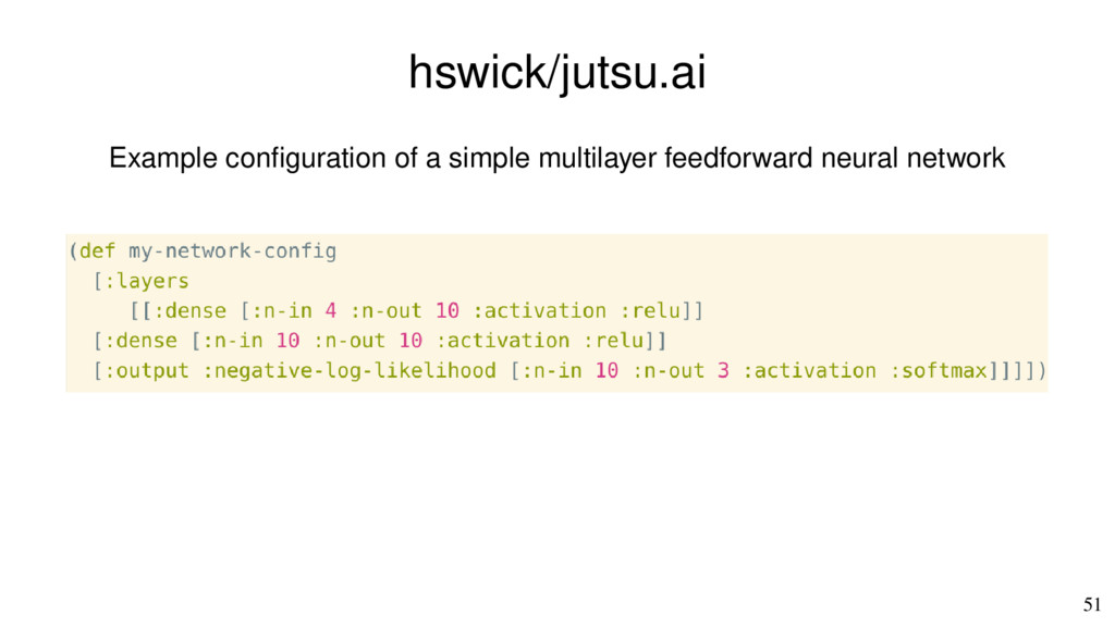 51 hswick/jutsu.ai Example confguration of a si...