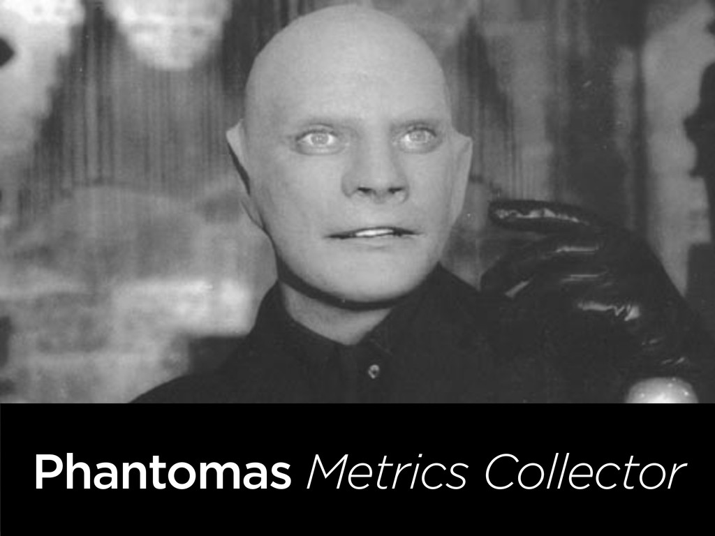 Phantomas Metrics Collector