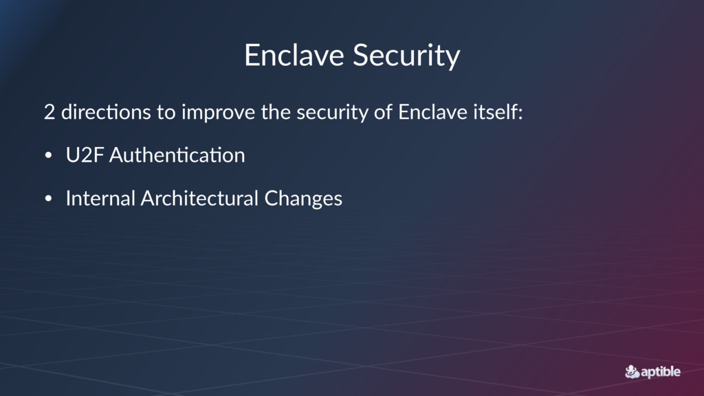 """Enclave(Security 2""""direc(ons""""to""""improve""""the""""sec..."""