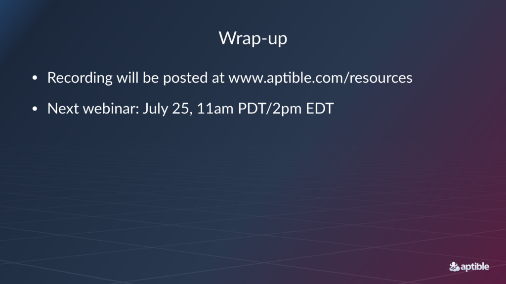 Wrap%up • Recording+will+be+posted+at+www.ap4bl...