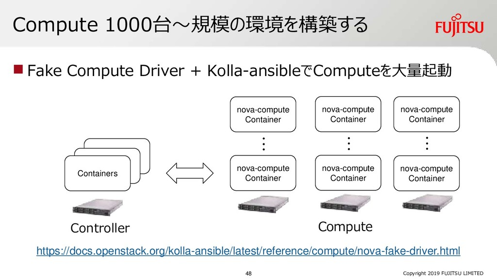 Containers Containers Compute 1000台~規模の環境を構築する ...