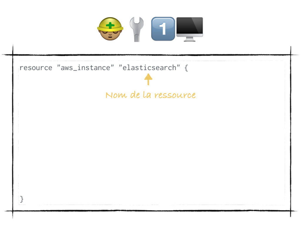 "(/ resource ""aws_instance"" ""elasticsearch"" { } ..."