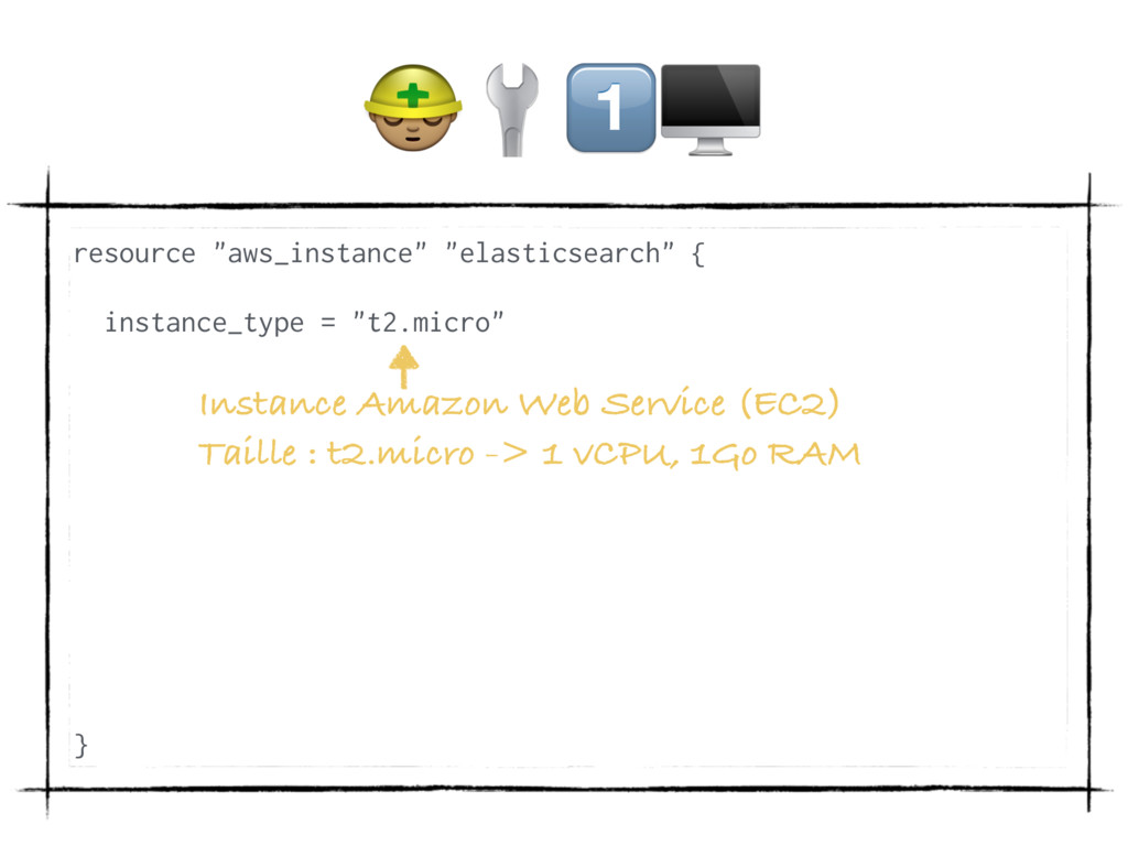 """(/ resource """"aws_instance"""" """"elasticsearch"""" { in..."""