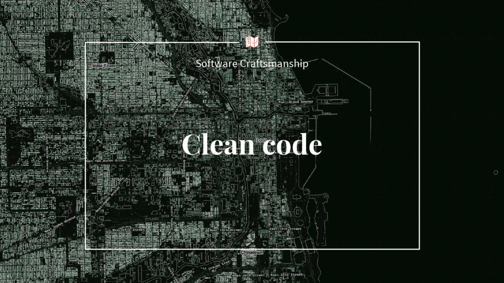 Clean code Software Craftsmanship