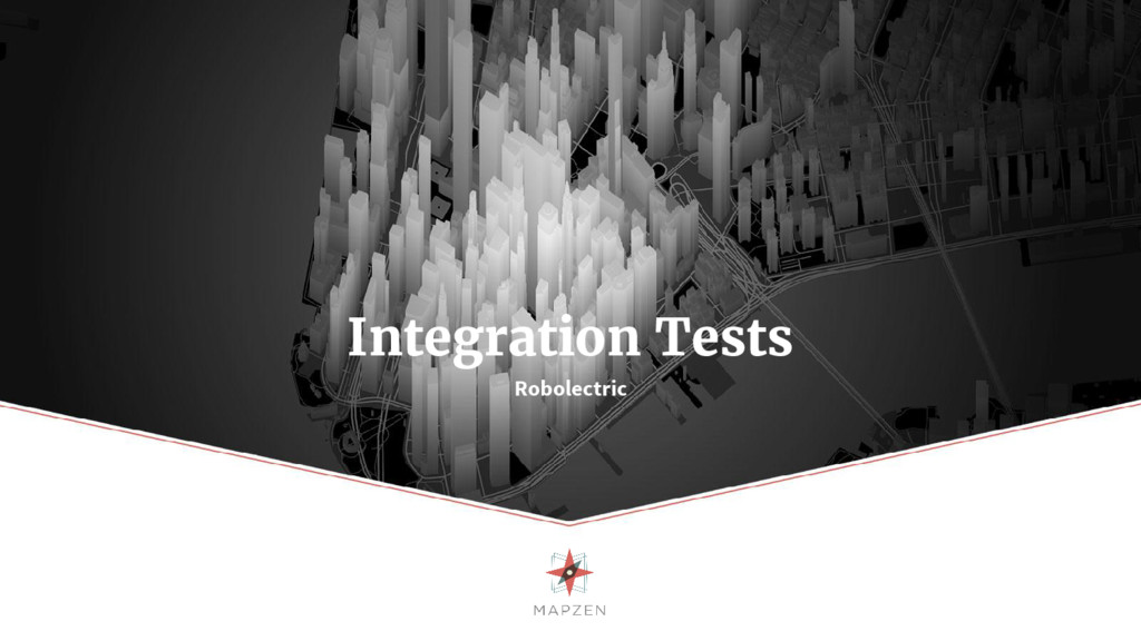 Integration Tests Robolectric