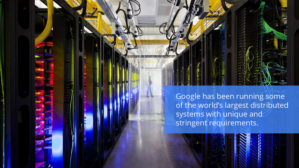 Google has been running some of the world's lar...