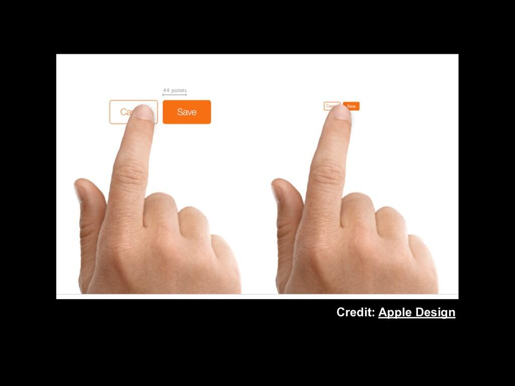 Credit: Apple Design