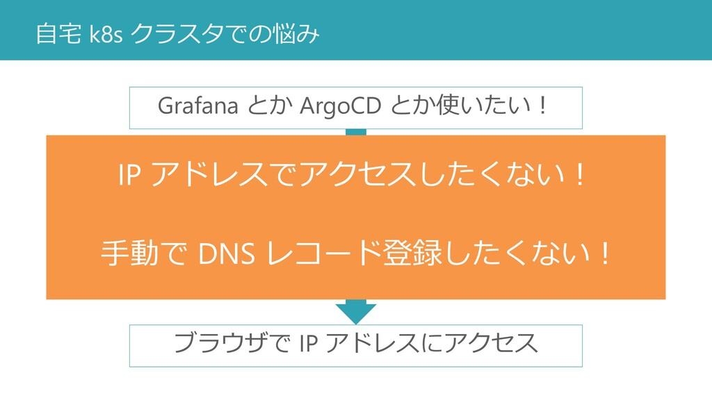 自宅 k8s クラスタでの悩み Service type: LoadBalancer デプロイ...