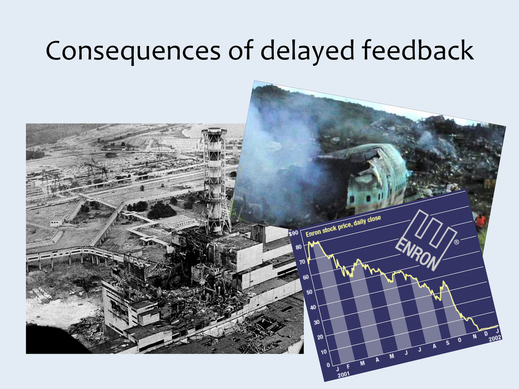 Consequences of delayed feedback