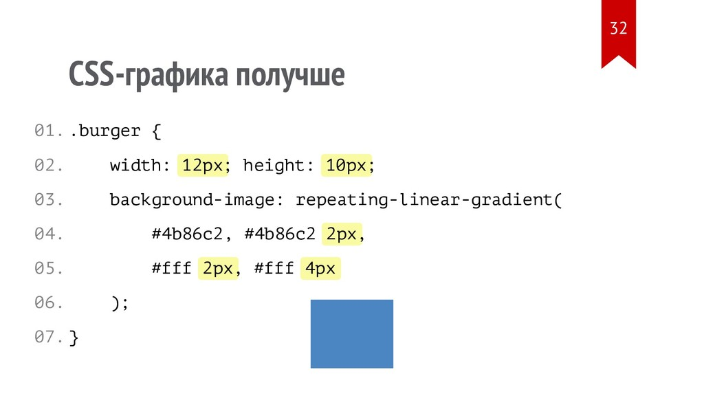 12px 10px 2px 2px 4px CSS-графика получше .burg...