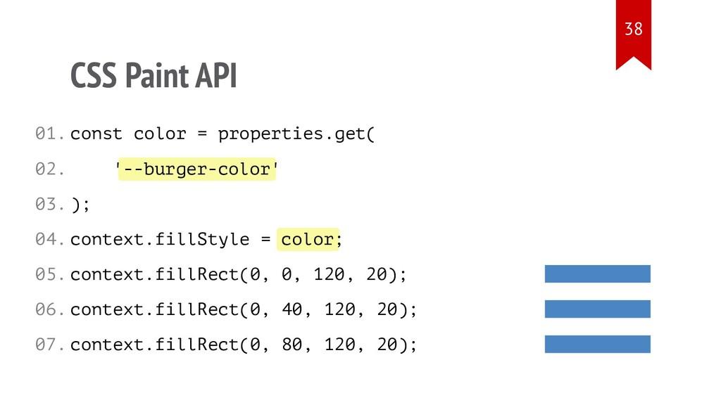 --burger-color color CSS Paint API const color ...
