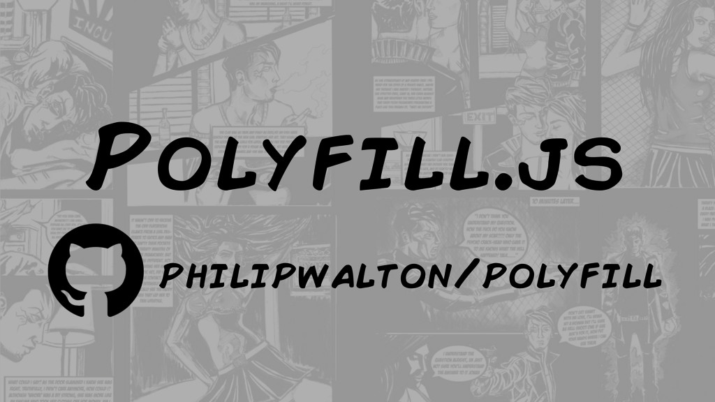 Polyfill.js philipwalton/polyfill