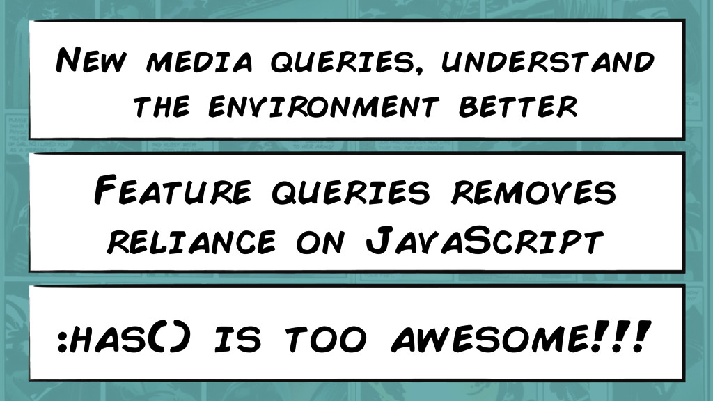 Feature queries removes reliance on JavaScript ...
