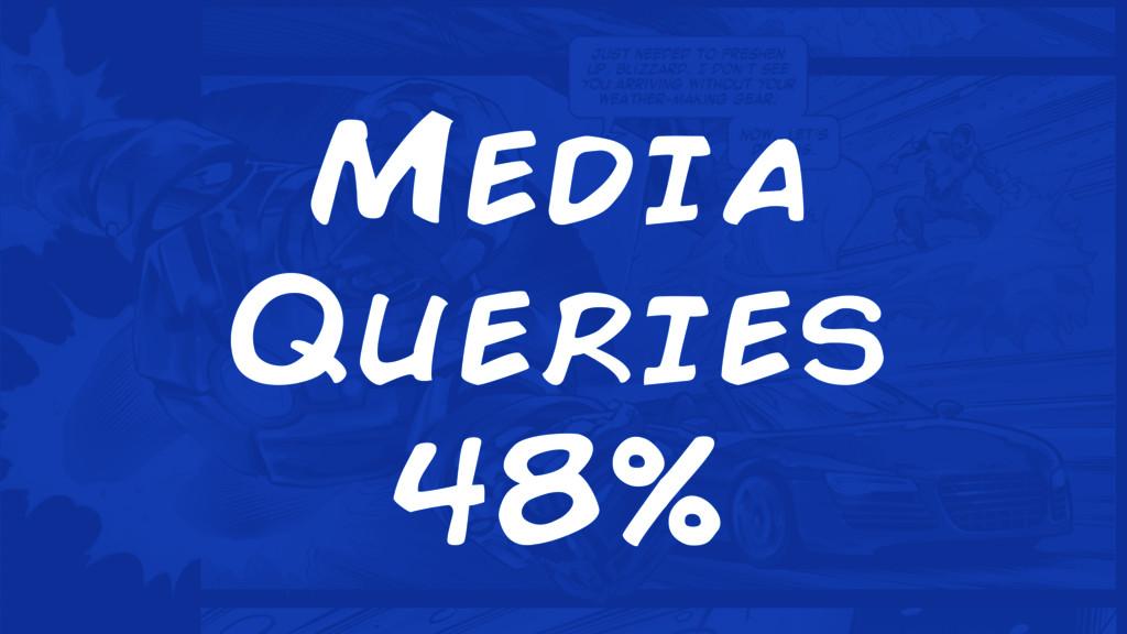Media Queries 48%