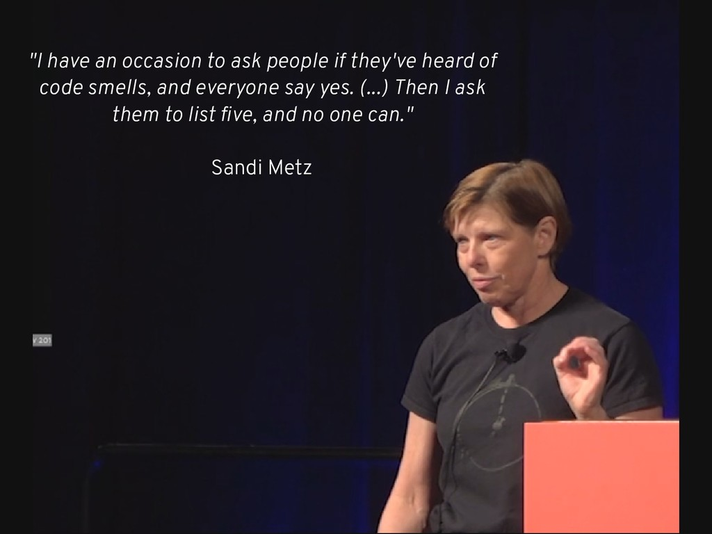 """""""I have an occasion to ask people if they've he..."""