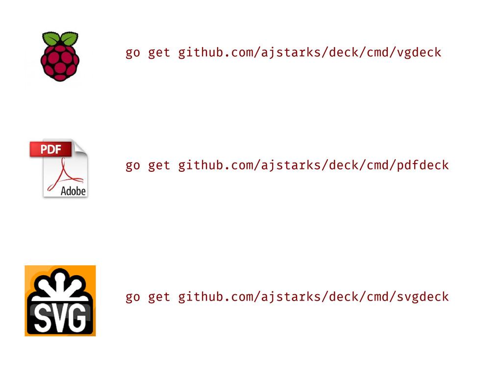 go get github.com/ajstarks/deck/cmd/vgdeck go g...