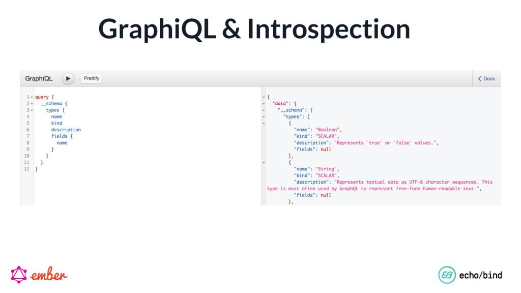 GraphiQL & Introspection