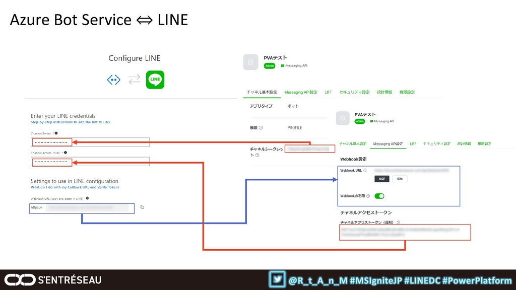 Azure Bot Service ⇔ LINE