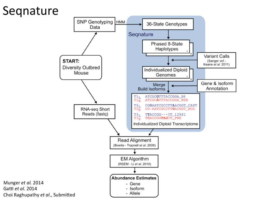 Seqnature Munger et al. 2014 Gak et al. 2014 Ch...