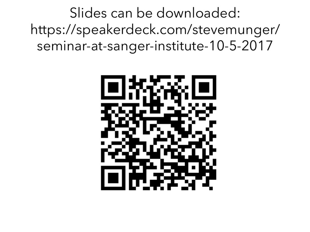 Slides can be downloaded: https://speakerdeck.c...