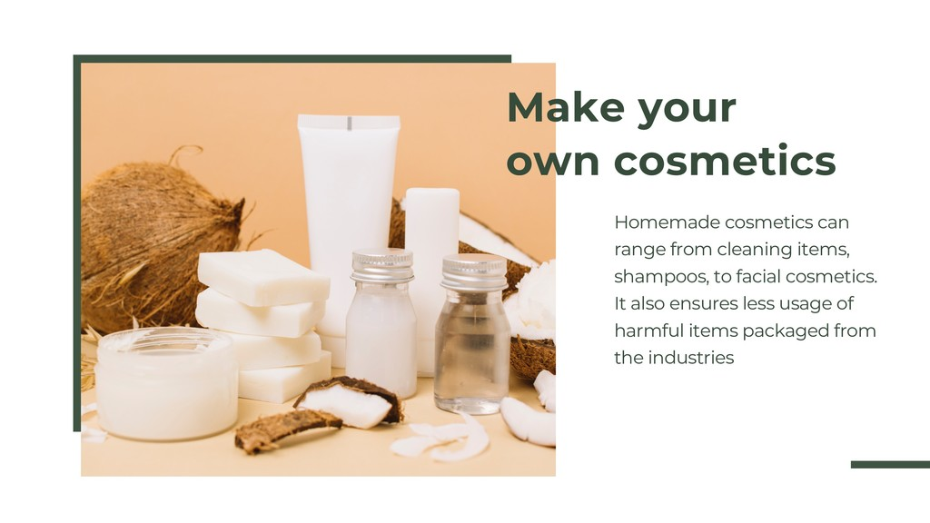 GOING GREEN SERIES PT 3 Make your own cosmetics...