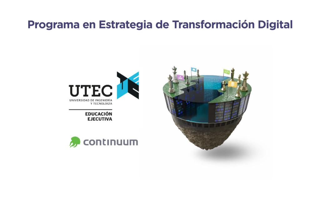 Programa en Estrategia de Transformación Digital