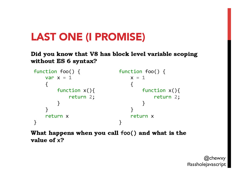 LAST ONE (I PROMISE)