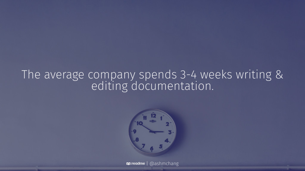 The average company spends 3-4 weeks writing & ...