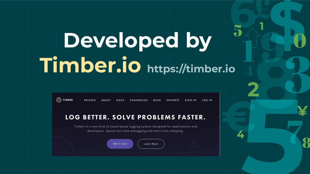 Developed by Timber.io https://timber.io