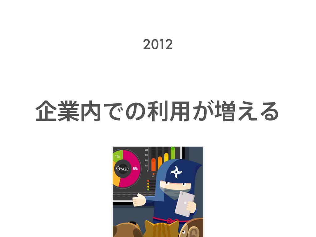 اۀͰͷར༻͕૿͑Δ 2012