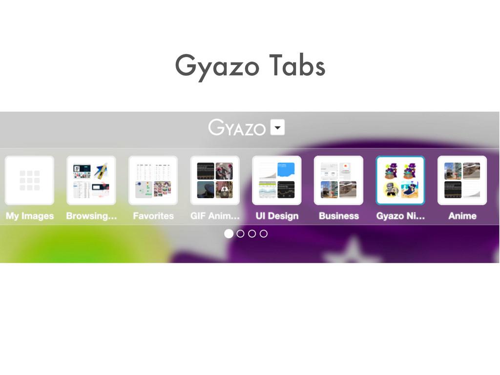 Gyazo Tabs
