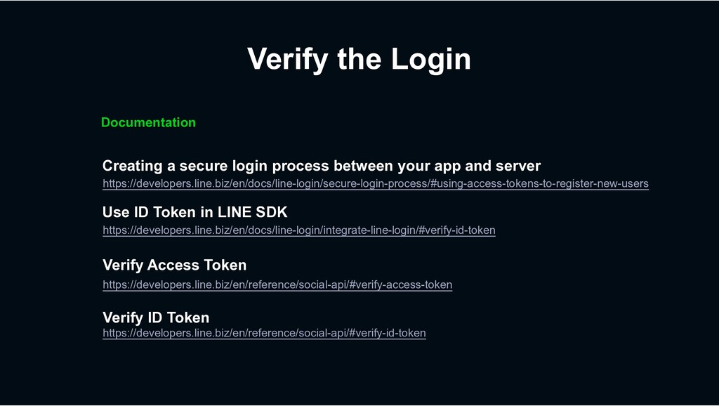 Verify the Login Creating a secure login proces...