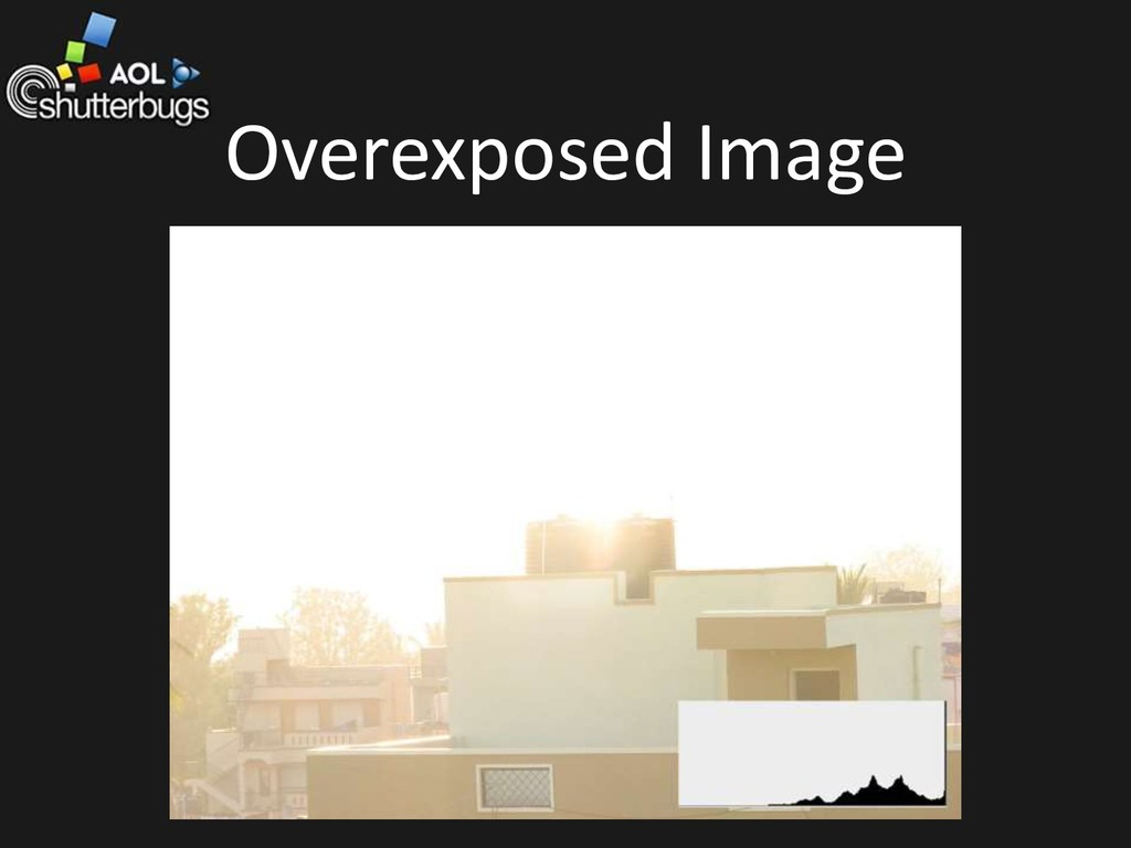 Overexposed Image
