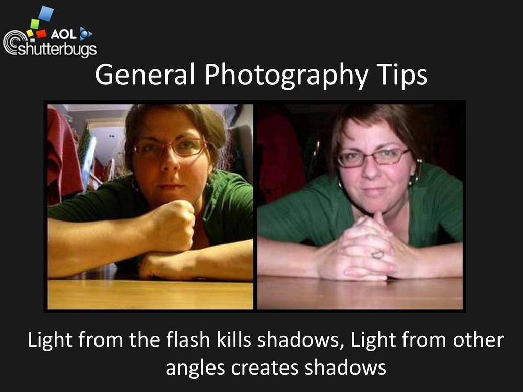 General Photography Tips Light from the flash k...