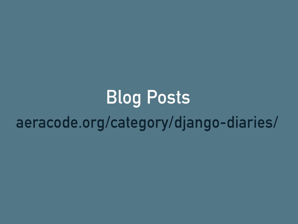 Blog Posts aeracode.org/category/django-diaries/