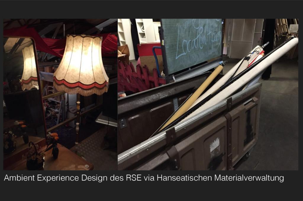 Ambient Experience Design des RSE via Hanseatis...