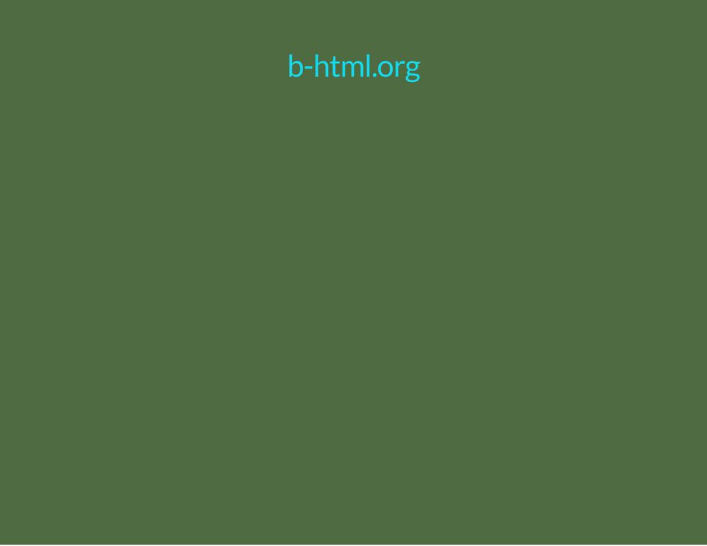 b-html.org
